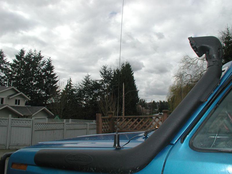 Ham Radio Off Road Antenna Installations My Off Road Radio