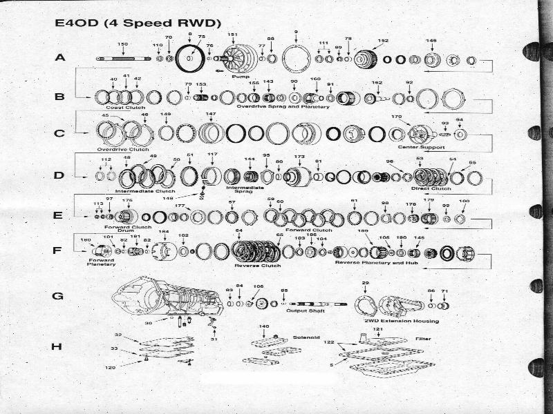 ford ranger manual transmission diagram part list  ford